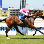 JET AGLOW (Jet Master - Lighthouse Girl by Argosy)- winner of the Gr 3 Victress Stakes 2013